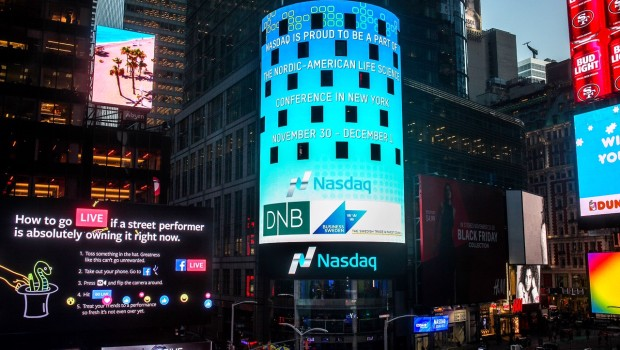 nasdaq-times-square-nordic-american-life-science-conference