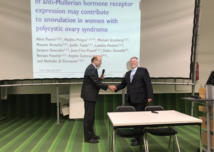 Milestone for MLM's lab director Josef van Helden
