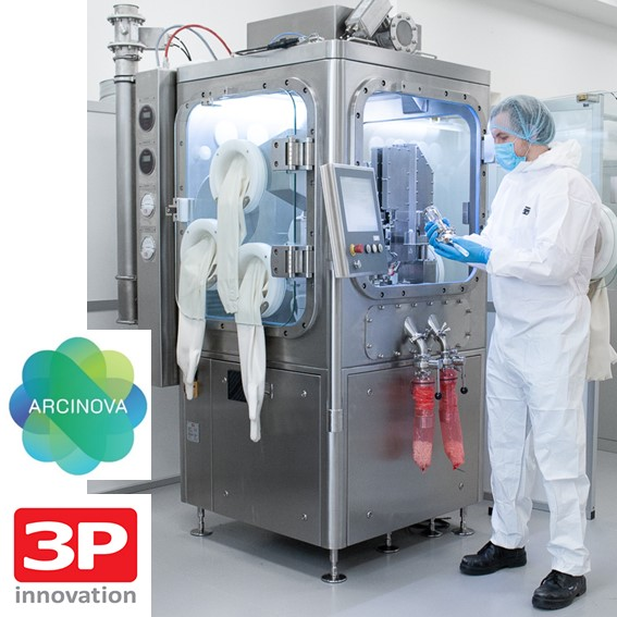 Arcinova announces major investment in Alnwick site with the installation of the R1000 capsule fill machine from 3P Innovation