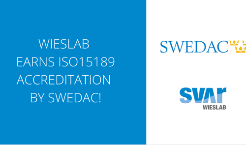 Wieslab receives ISO 15189 accreditation