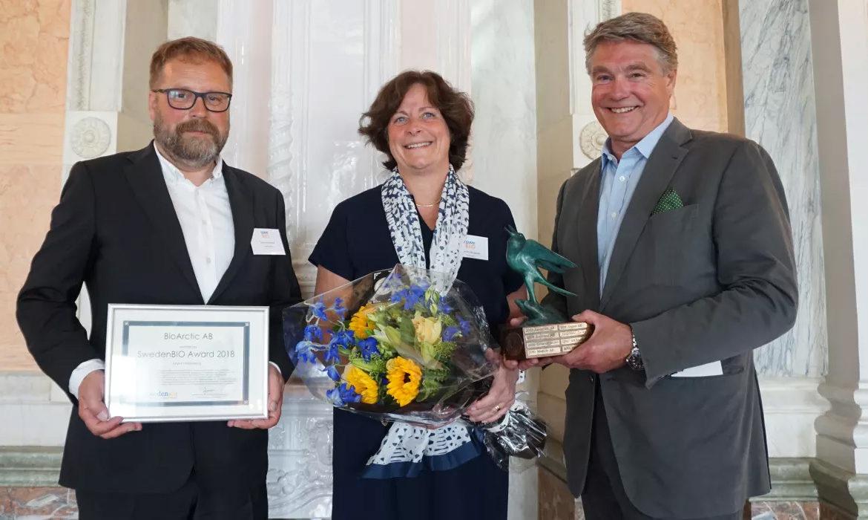 SwedenBIO Award 2018