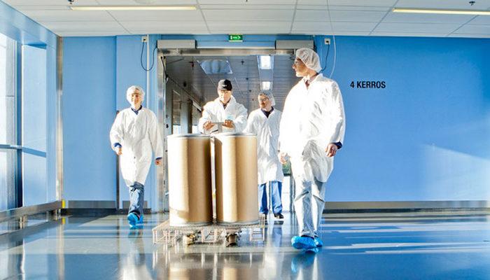 Milestone for Fermion's new plant