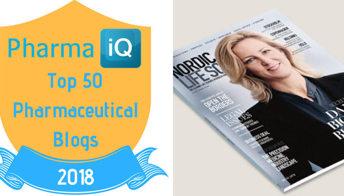Nordic Life Science among the world's top 50 pharmaceutical publications