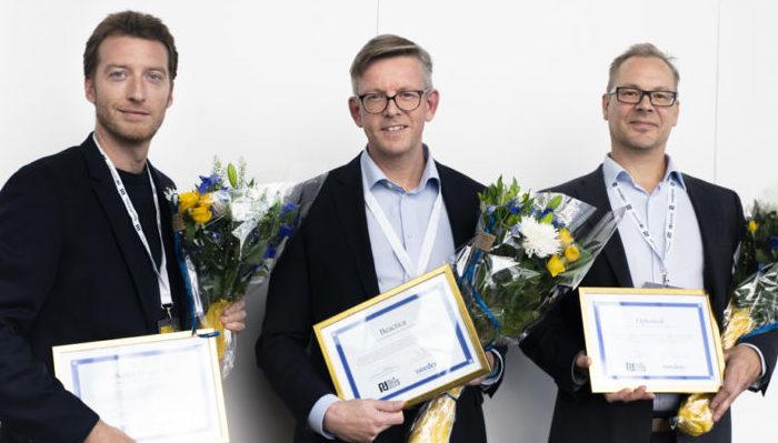 The winners of Nordic Stars Award 2018