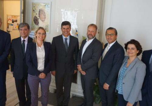 Portuguese Minister of Economy, Prof. Manuel Caldeira Cabral, and his delegation met with SwedenBIO, the Swedish life science industry organization