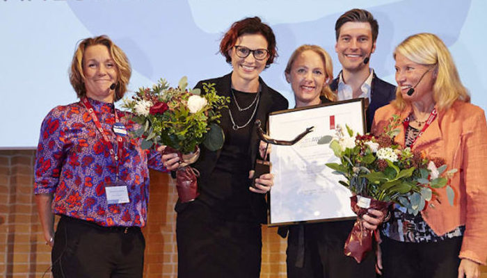 The winners of Arvid Carlsson Award 2018