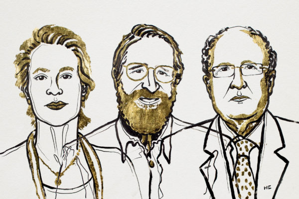 Chemistry Laureates 2018