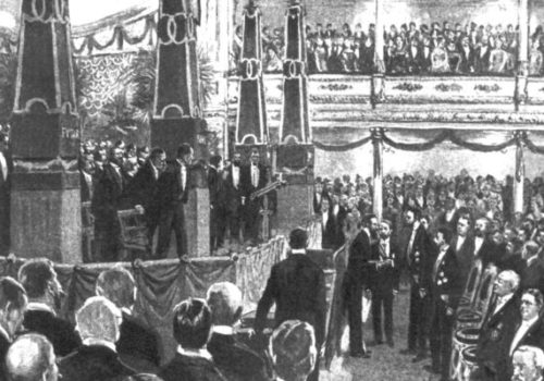 The first Nobel Prize Award ceremony 1901