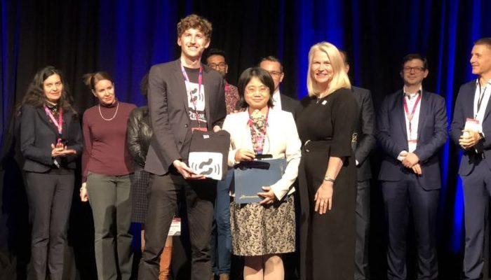 The winner of BIO-Europe's Startup Slam