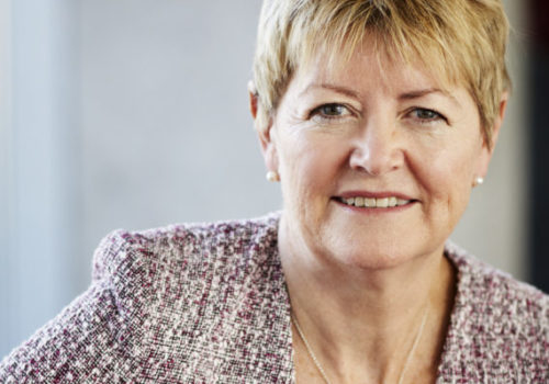 She is the new President and CEO of Lundbeck