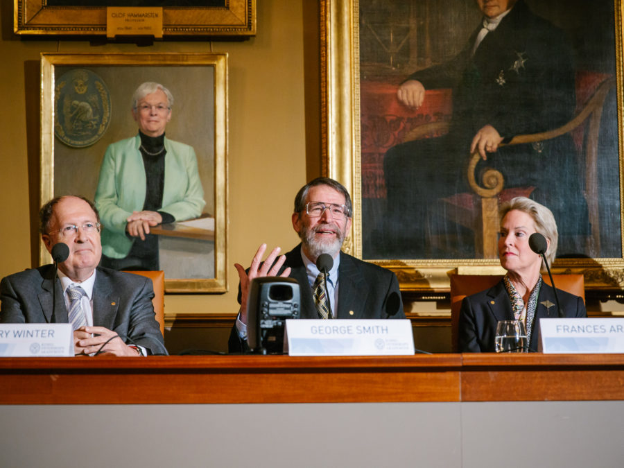 Nobel Prize press conference 2018
