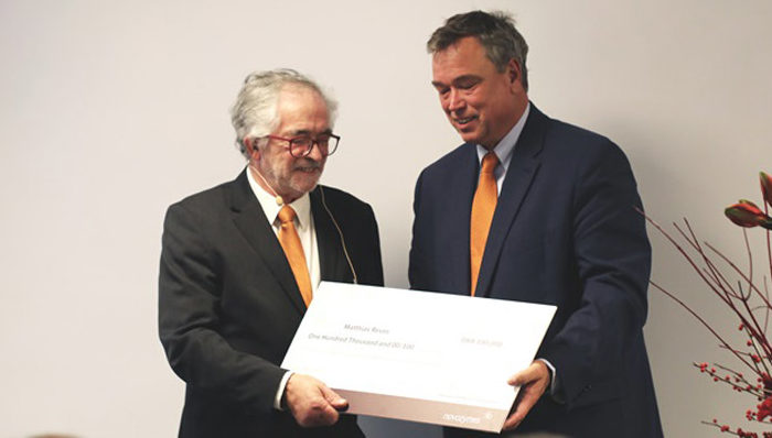 Novozymes Award to Matthias Reuss