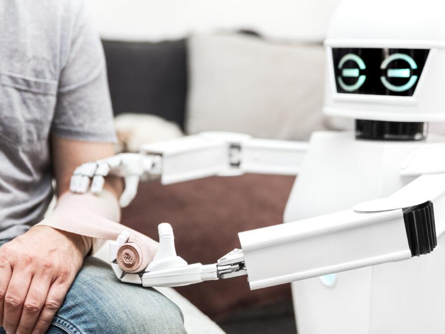 AI robot healthcare