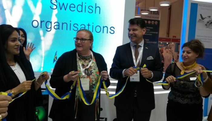The Innovation Pavilion by Sweden at Arab Health 2019