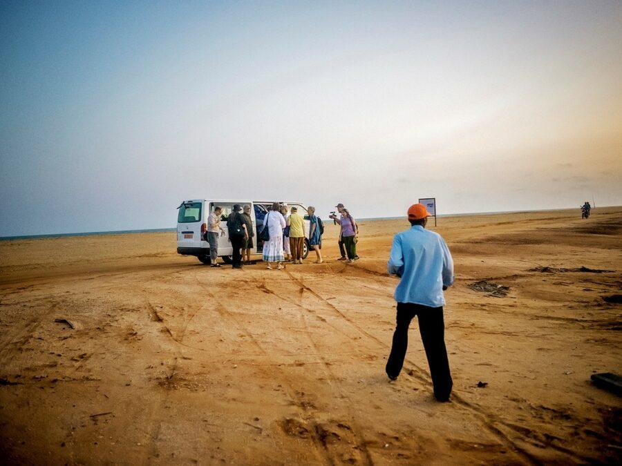 Bus stop Benin