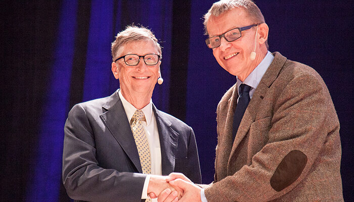A new center in Washington has been named after Hans Rosling