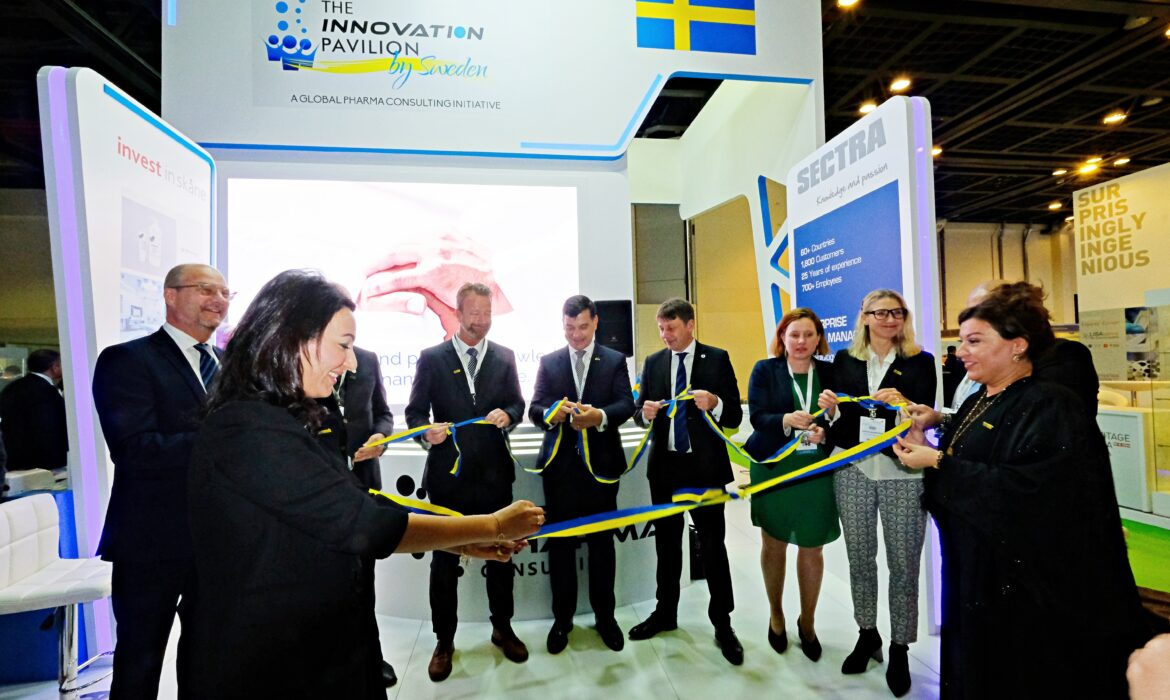 Innovation Pavilion by Sweden at Arab Health 2020