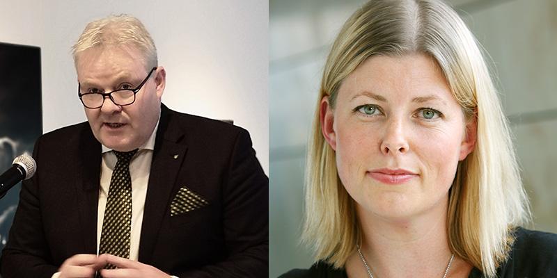 Sigurður Ingi Jóhannsson and Maria Nilsson