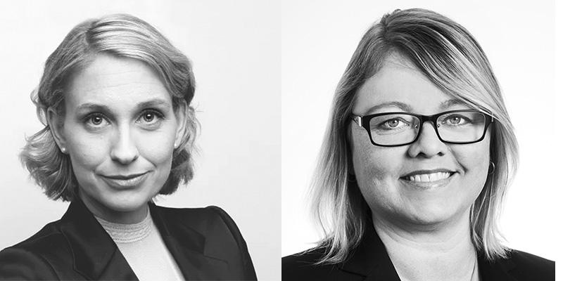 Helena Strigård and Erna Björnsdóttir