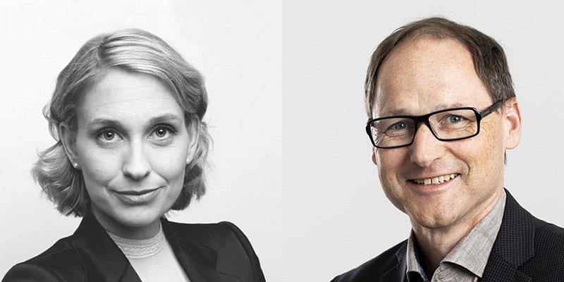 Helena Strigård and Per Spindler