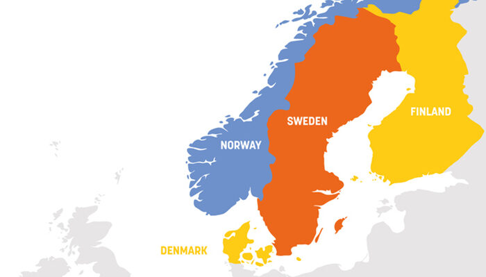 Different COVID-19 strategies in the Nordic countries