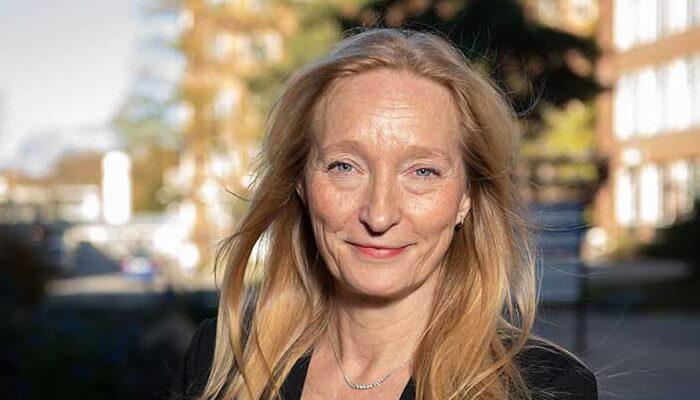 She is the new Torsten Söderberg Professor