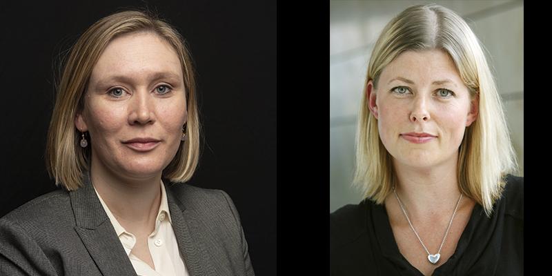 Marianne Aastebøl Minge and Maria Nilsson