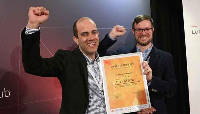 Prediktera named one of Europe's hottest AI startups