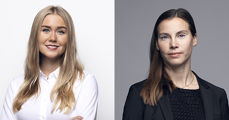 Malin Almkvist and Anna Spängs