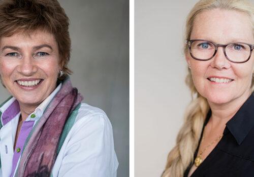 Camilla Huse Bondesson and Anette Nordvall