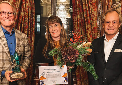 SwedenBIO Award 2020
