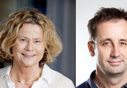 Agneta Holmäng and Claes Gustafsson