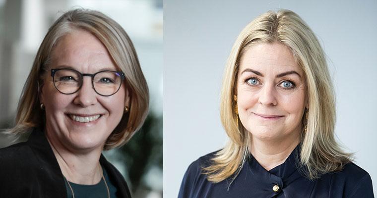Malin Carlsson and Johanna Fälting