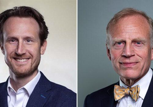 Ted Fjällman and Thomas Eldered