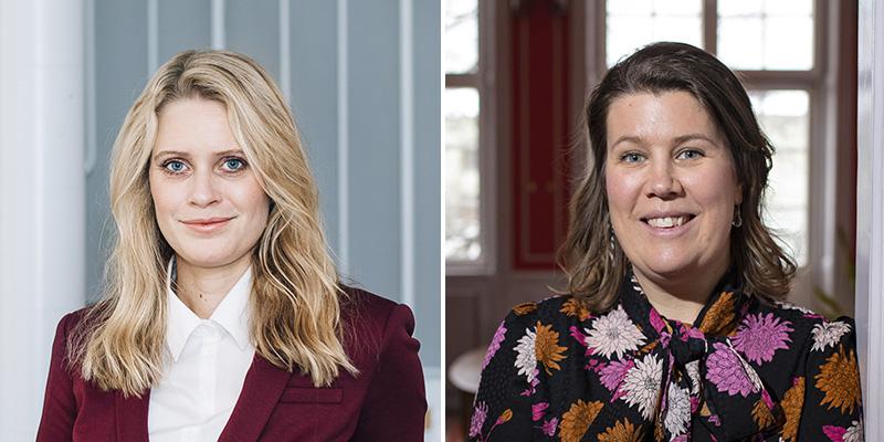 Evelina Vågesjö and Sara Mangsbo
